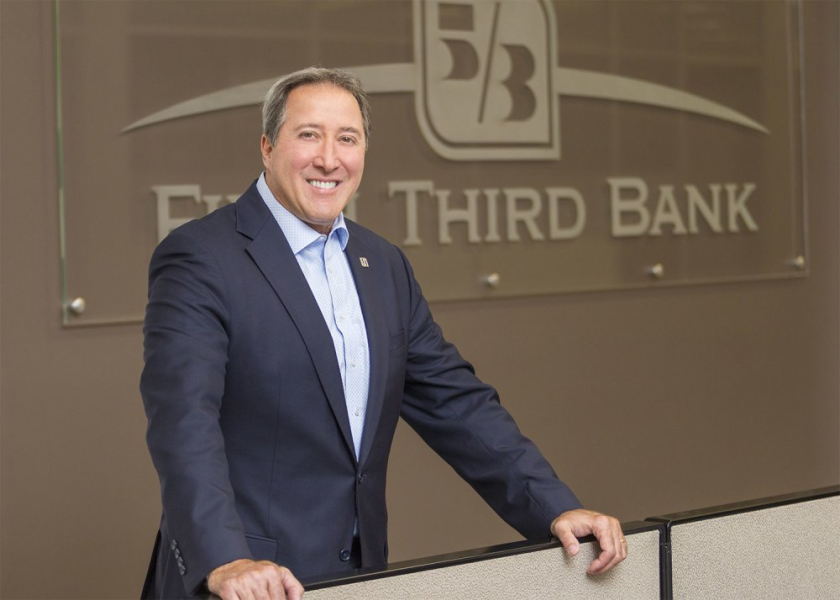 "If fintechs ""get access to the banking system … that could create some stress for us that I'm very concerned about,"" said Fifth Third CEO Greg Carmichael."