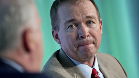 Mick Mulvaney, acting CFPB director.