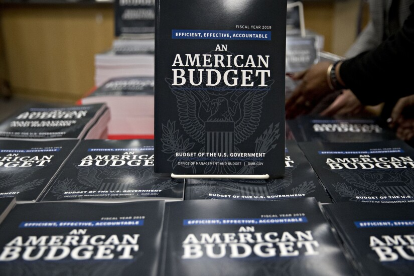 Trump 2019 budget