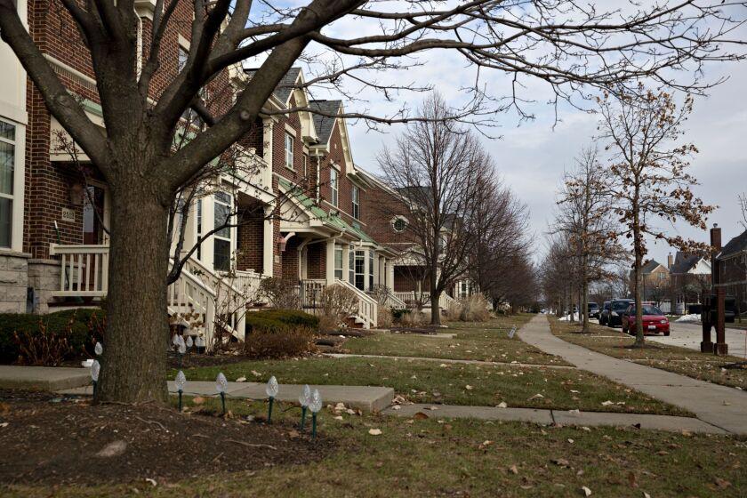 Townhouses/neighborhood housing