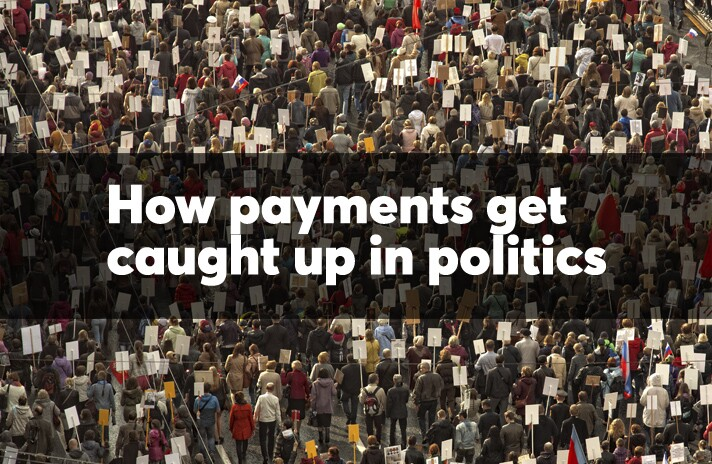How payments get caught up in politics