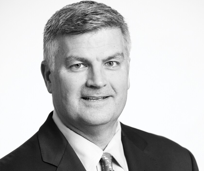 David Tyrie, who is managing director and head of advanced solutions and digital banking at Bank of America