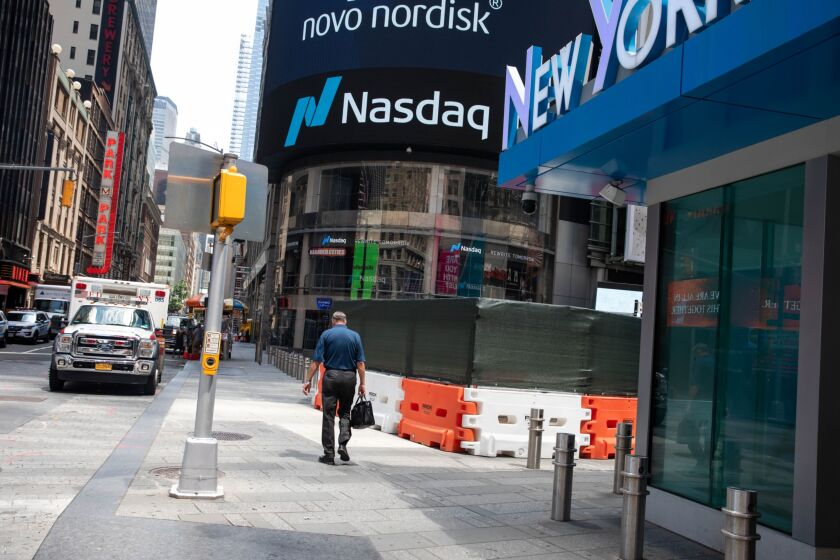 The Nasdaq 100 has tumbled almost 10% in three days.