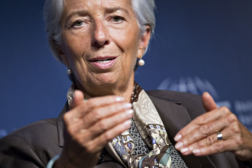 Christine Lagarde Bloomberg