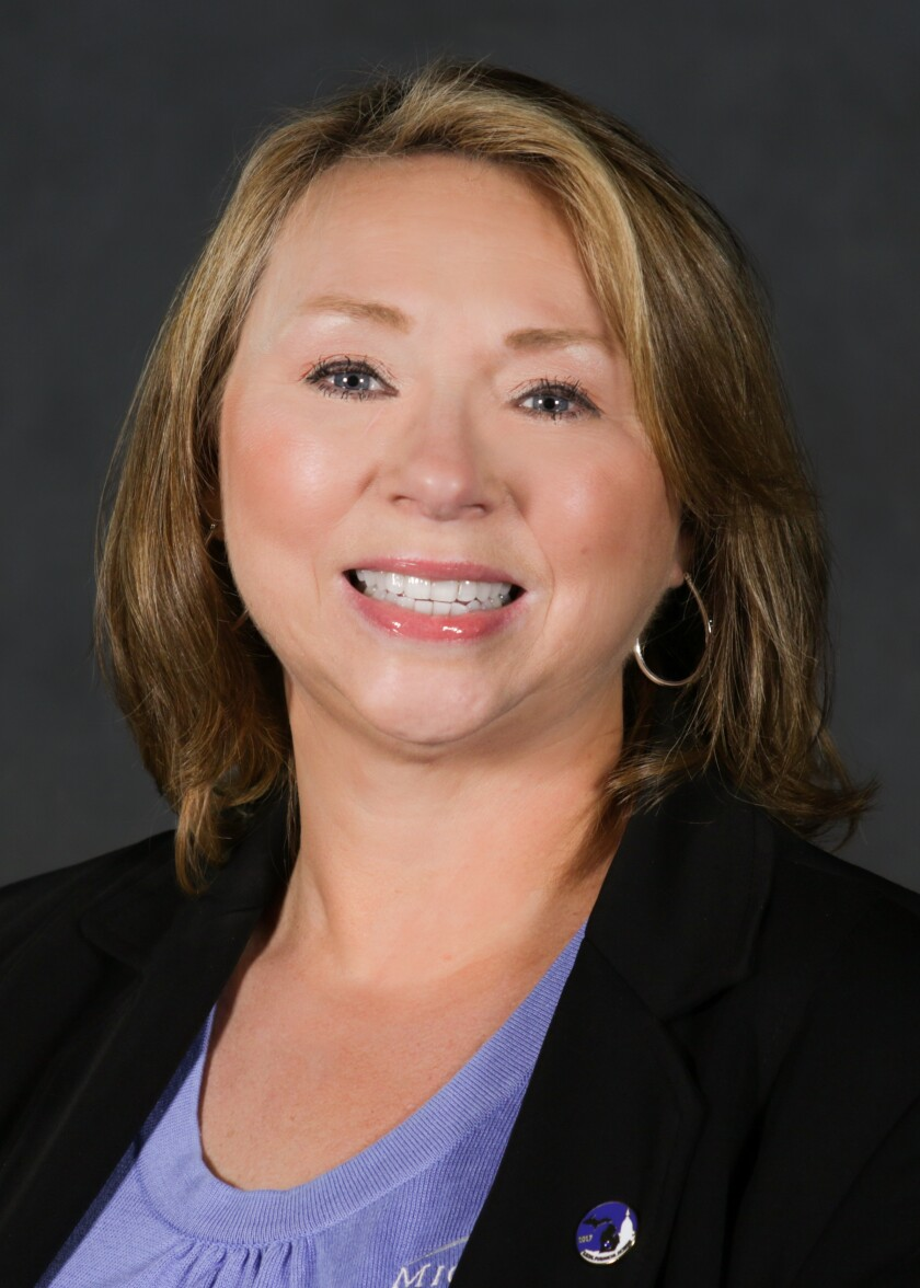 Carma Peters, president and CEO of Michigan Legacy Credit Union