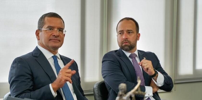Pedro Pierluisi and Omar Marrero