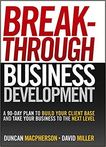 Book cover - Breakthrough Business Development