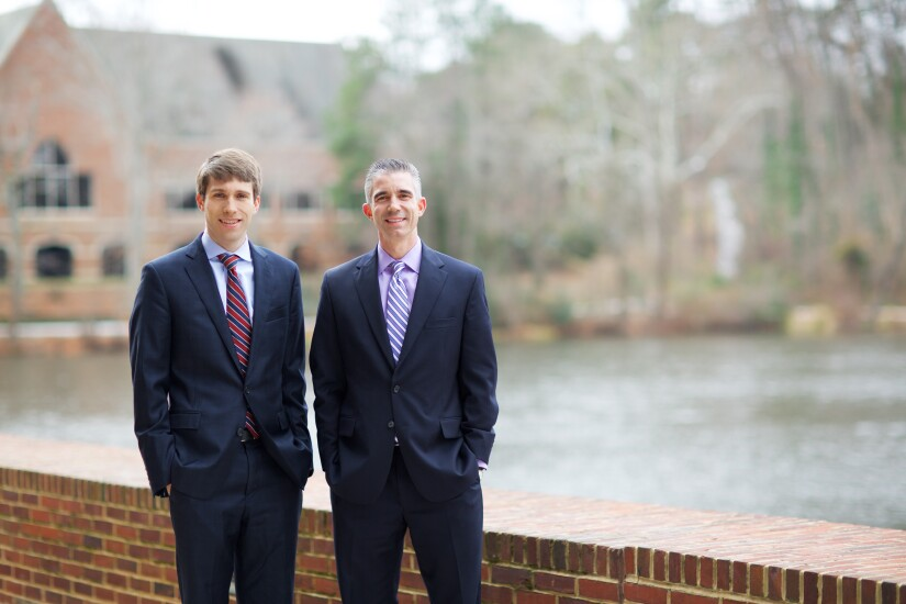 Campbell Deegan Financial founders Tim Deegan and  Sean Campbell