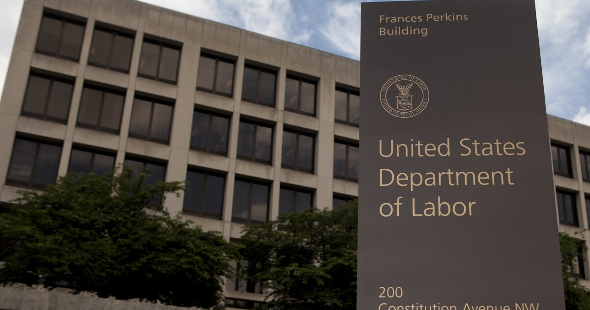 department of labor 2.'