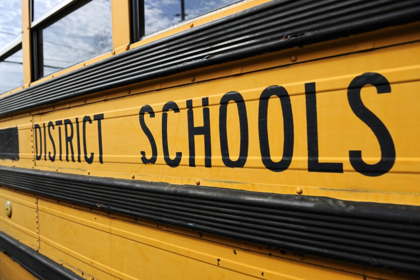 District schoolbus