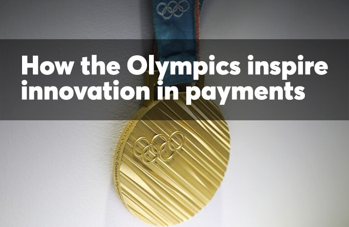 How the Olympics inspire innovation in payments