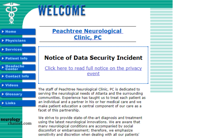 4. Top 10 Breaches Peachtree Neurological Clinic.png
