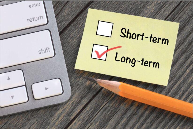 Short term vs. long term