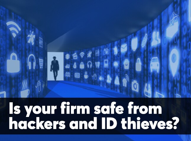 Data security opening screen