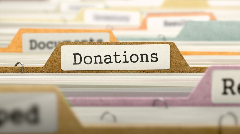 Charitable deductions file