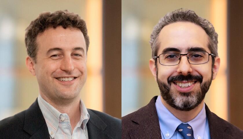 Kurt Reisenberg and Matthew Josefowicz