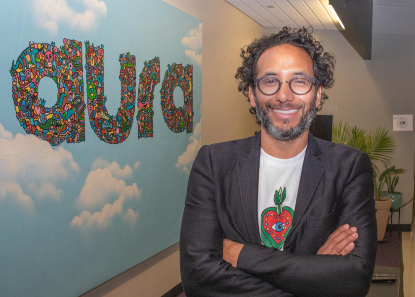 James Gutierrez has been CEO at Aura since co-founding the firm in 2012.