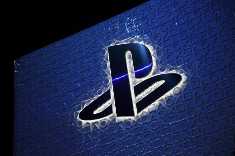 The Sony PlayStation logo.