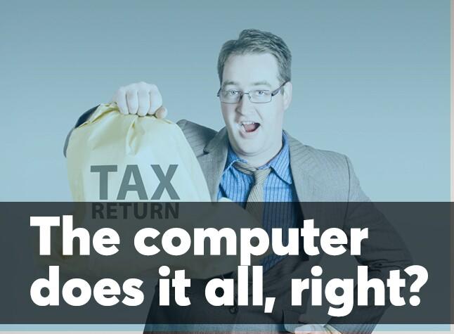Tax preparer misconception cover screen