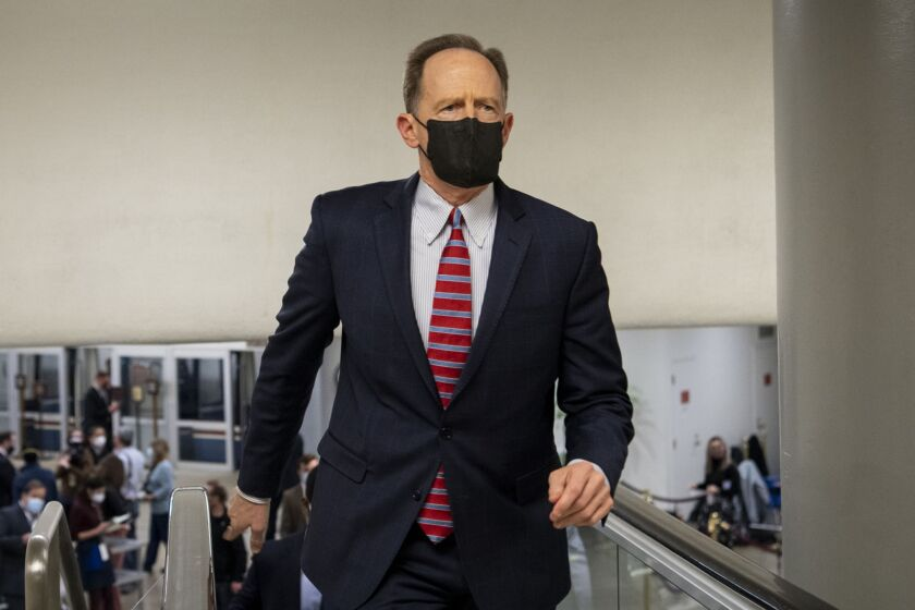"""""""Several Federal Reserve Banks, including the FRBSF, have increasingly been engaged in research on social policy topics reflective of the political and normative leanings of unelected Federal Reserve Bank officials,"""" said Sen. Pat Toomey, R-Pa."""