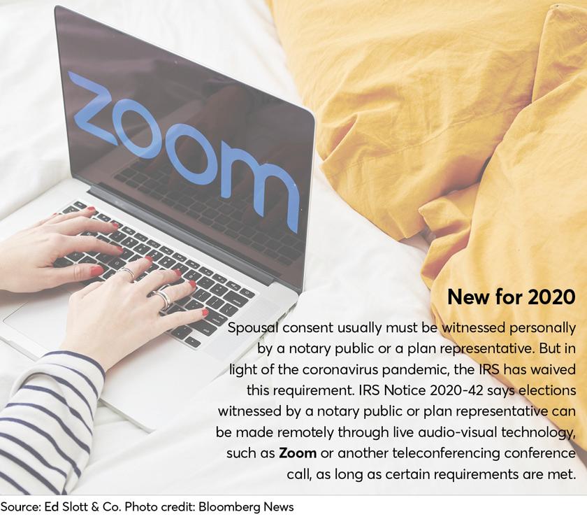 ERISA savings plans-New for 2020-coronavirus-Ed Slott