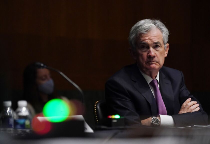 Federal Reserve Chairman Jerome Powell told senators in February that he was open to exploring a separate alternative reference rate that would be credit sensitive.