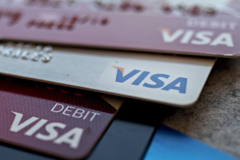 Visa debit cards