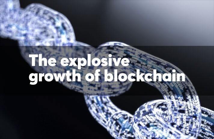 The explosive growth of blockchain