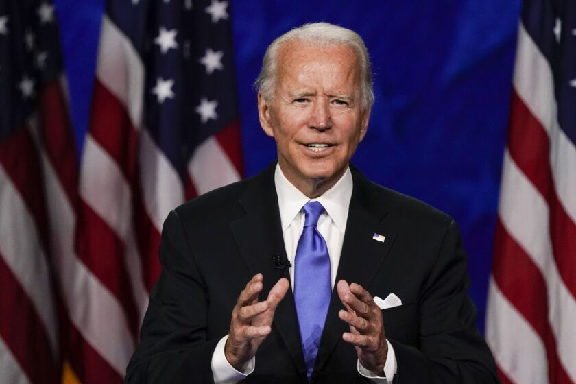 Democrat Joe Biden's platform would increase the top rate to 39.6%, where it was before Trump's overhaul pared it to 37%, according to the Penn Wharton Budget Model.
