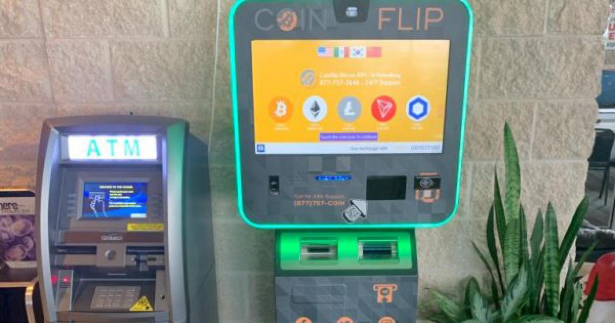 As crypto's spotlight grows, a <bold>bitcoin</bold> <bold>ATM</bold> maker looks to pounce
