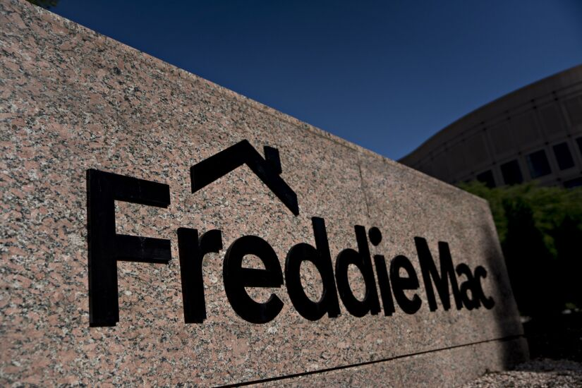 Freddie Mac Headquarters As Borrowers Run Into Tough Loan-Approval Standards