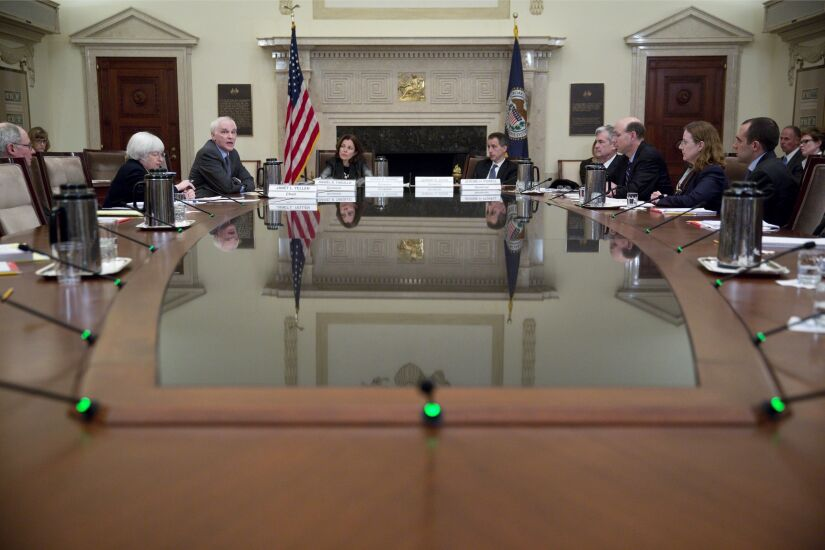 Federal Reserve Board Meeting On Banking Supervision