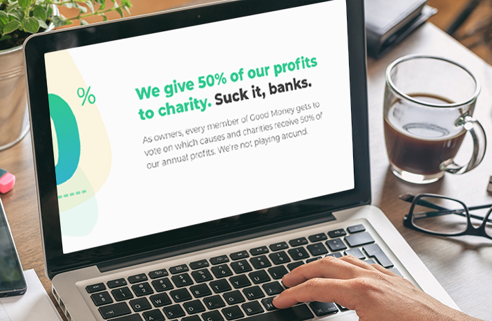 Image of ad for Goodmoney.com