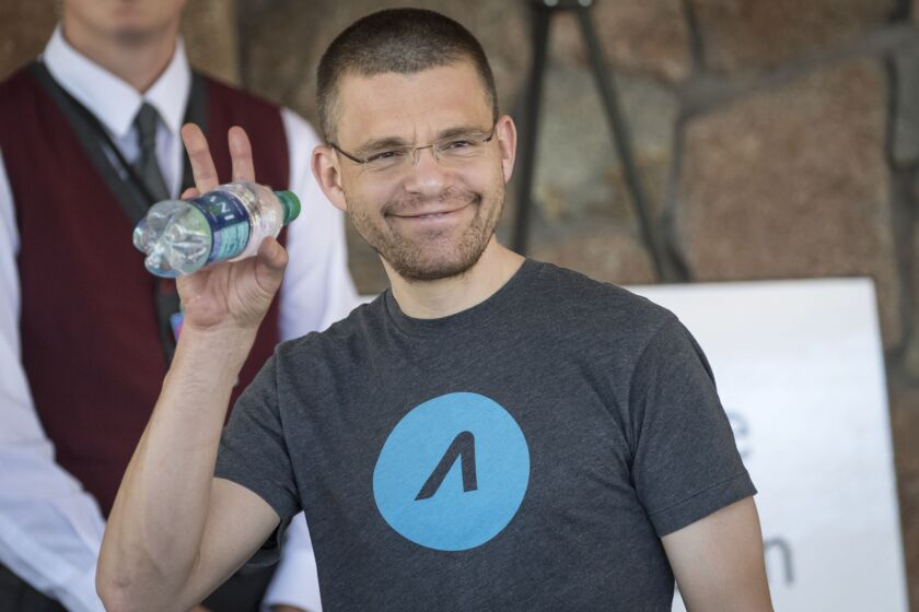 Max Levchin, co-founder of PayPal Inc. and chief executive officer of Affirm Inc.