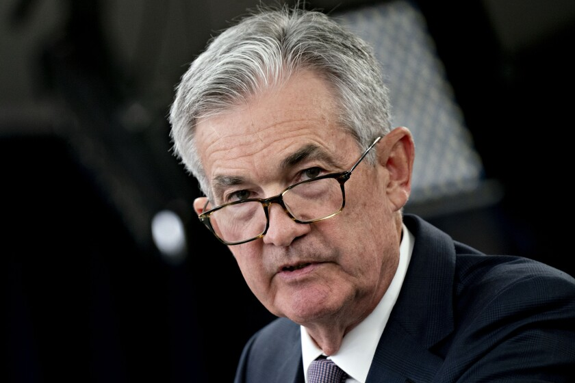Fed Chairman Jerome Powell on Friday indicated that the agency might attempt to shore up flailing markets with an interest rate cut.