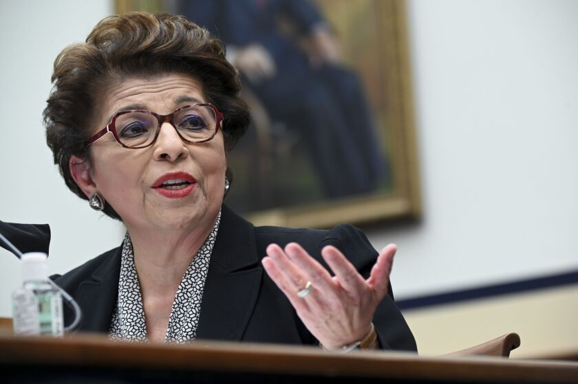 SBA Administrator Jovita Carranza said business owners have told her they need a renewal of the Paycheck Protection Program that was part of the last stimulus passed by Congress, but with changes that would help them expand.