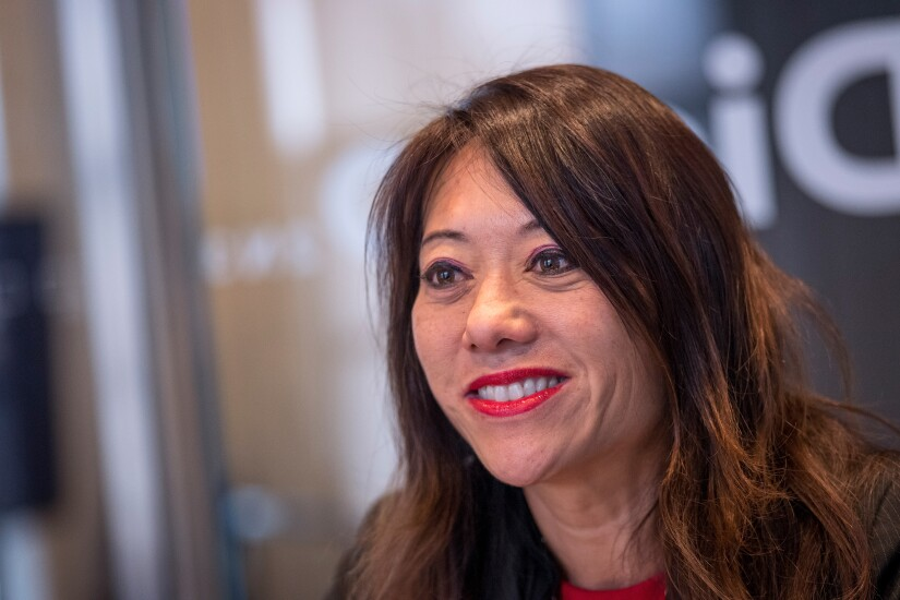 California Treasurer Fiona Ma during an interview in San Francisco, California, U.S., on Tuesday, Dec. 18, 2018. She will be sworn in as state treasurer on Jan. 7, 2019.