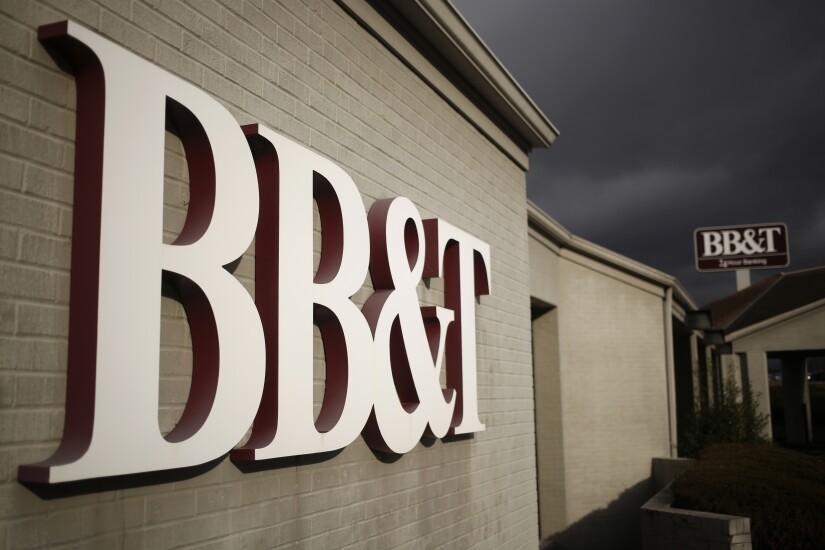 A BB&T branch.