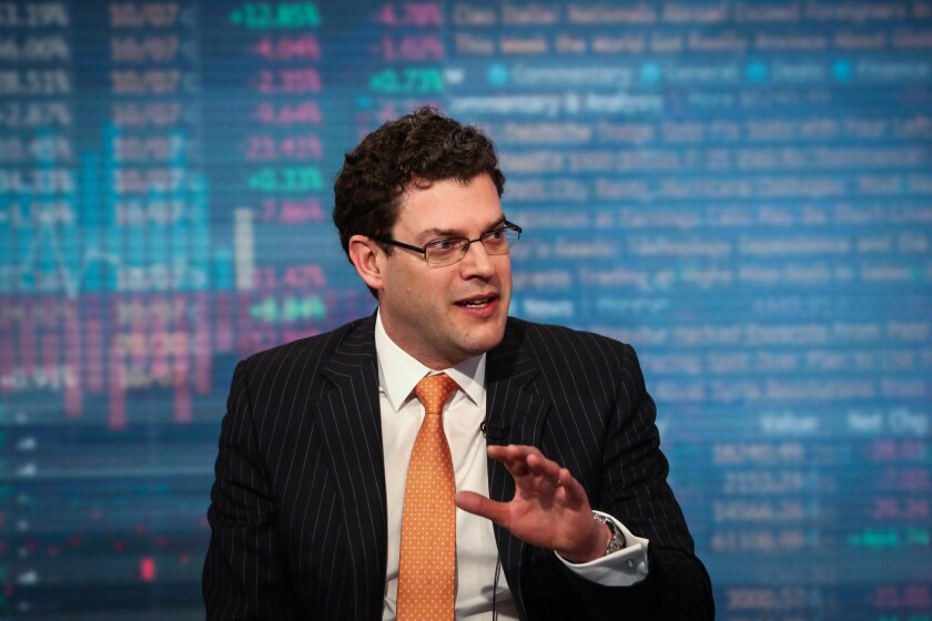 Franklin Templeton CEO Michael Hasenstab has been waiting since at least 2016 for his wager on rising U.S. interest rates to come good. Now he's adding to the position.