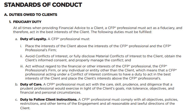 CFP board new standards fiduciary duty 10/7/19.png