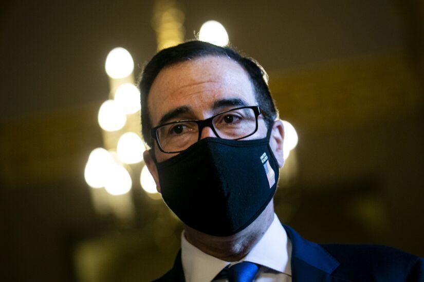Mnuchin Drops Trump-Favored Payroll Tax Cut To Get GOP Agreement