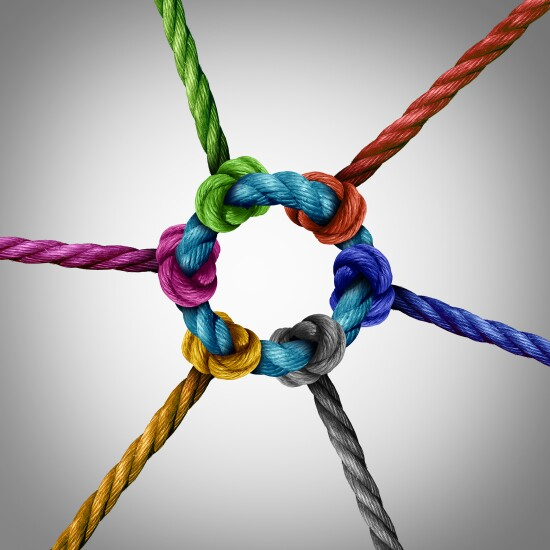 Central knot