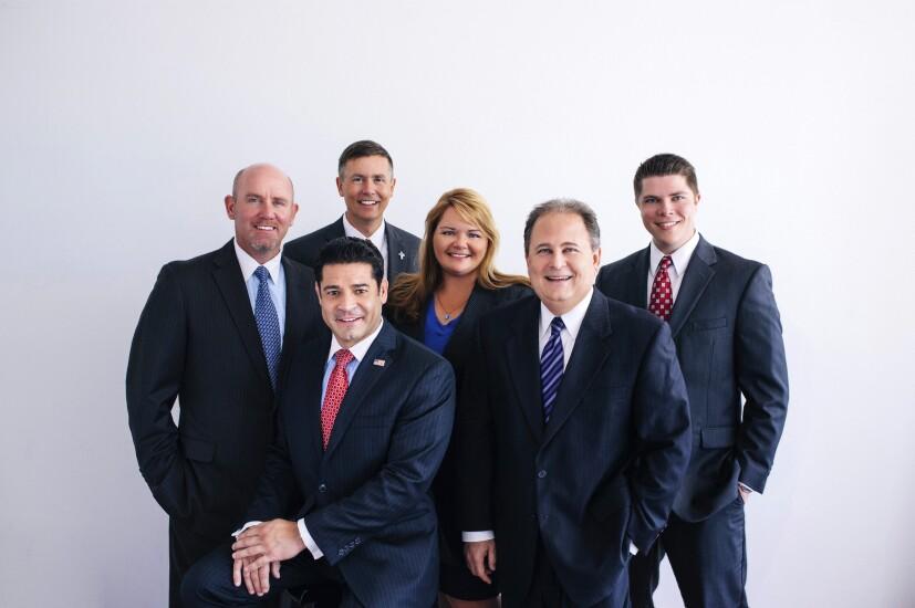 Raymond James advisory team T.J. Goelz, Dean Dancer (top), Joe Malave (bottom), Pamela Miller, Steven Grossman, Blake Caldwell.jpg