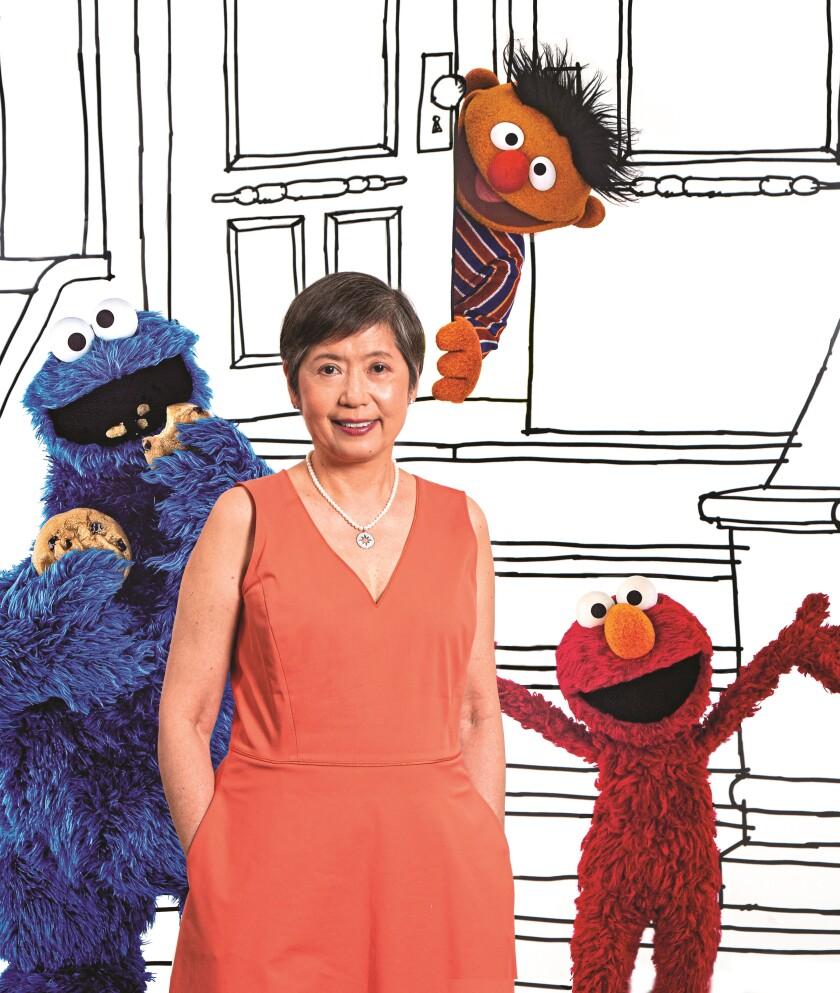 Diana Lee Sesame Street Benny Winner