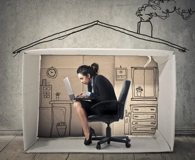 Home office in a box