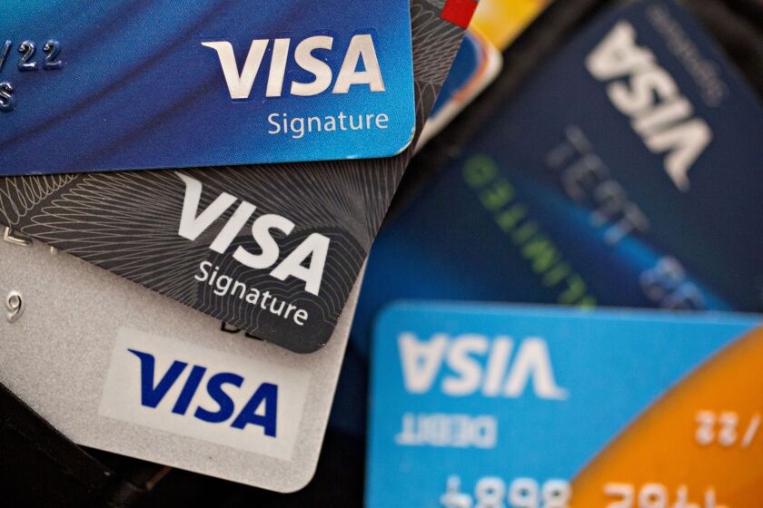 Credit card delinquencies rose to 9.09% in the first quarter, the highest level in more than two years, according to the New York Fed.