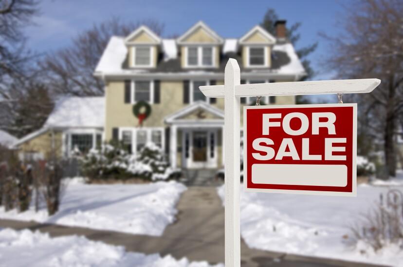 Home for sale Christmas