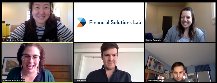 Financial Solutions Lab, 2020 cohort