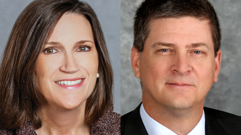JPMorgan Chase's Jennifer Piepszak and M&T Bank's Darren King said that the uncertain economic outlook makes it hard to predict when loan demand will rebound.