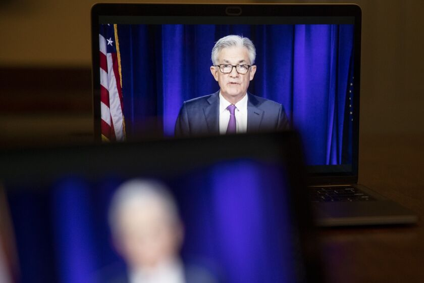 """""""Lenders are concerned about the underwriting expectations,"""" Fed Chair Jerome Powell said of the limited participation in the Main Street Lending Program."""